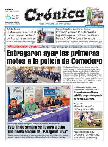 309022533dc Diario Cronica 9 de Mayo 2019 by Diario Crónica - issuu