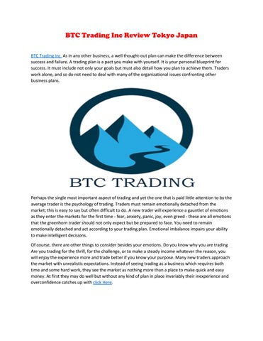 btc trading tokyo