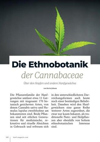 Page 142 of Die Ethnobotanik der Cannabaceae