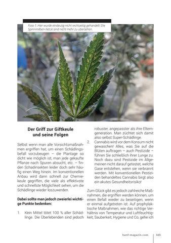 Page 165 of Biologische Schädlingsbekämpfung im Cannabis-Anbau