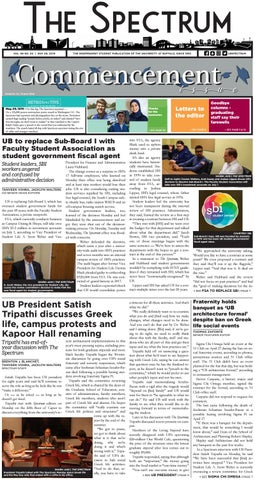 The Spectrum Vol 68 No 50 by The Spectrum Student Periodical
