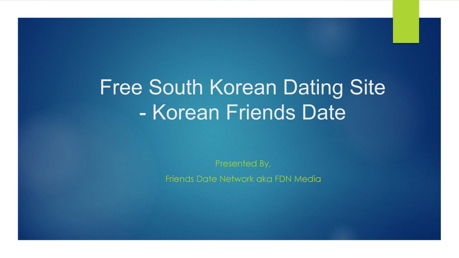 Korean dating site for free