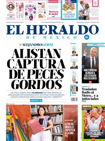 440a35a2b Jueves 9 de mayo de 2019 by El Heraldo de México - issuu