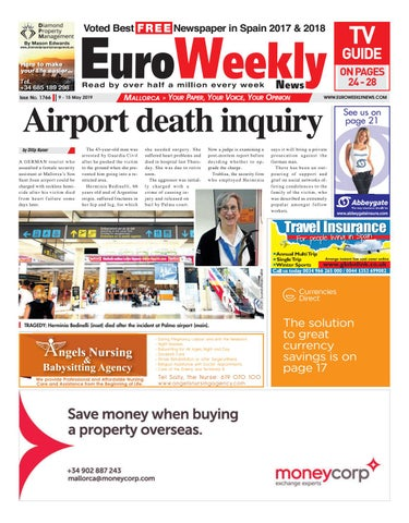 cb6d4c26313 Euro Weekly News - Mallorca 9 - 15 May 2019 Issue 1766 by Euro ...