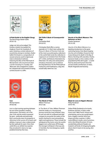Page 47 of The OT Reading List