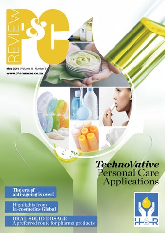 Pharmaceutical & Cosmetic Review May 2019 by New Media B2B