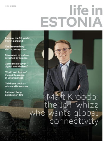 3c075348cf8 Life in Estonia. Spring 2019 by EAS, Enterprise Estonia - issuu