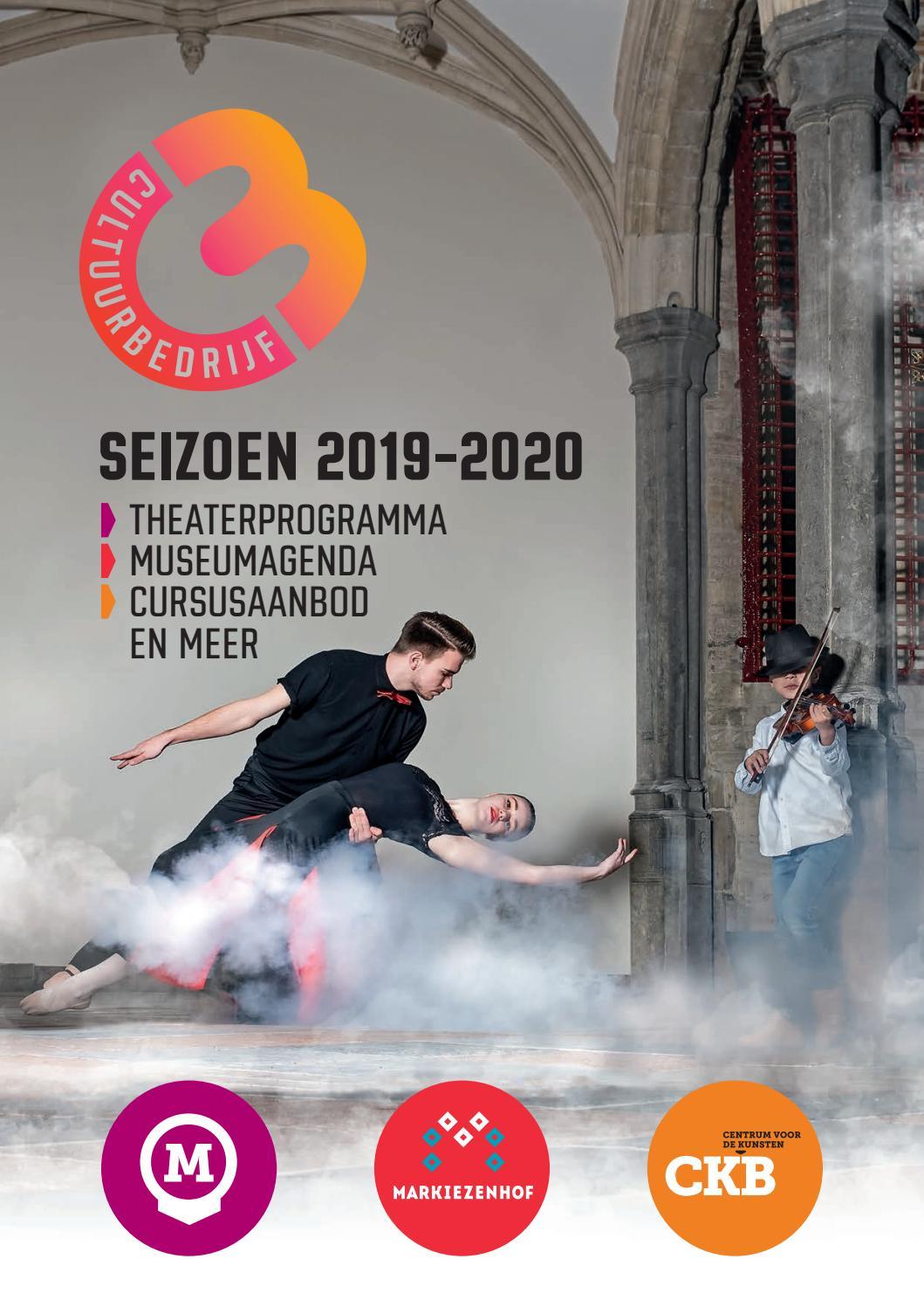 Brochure Cultuurbedrijf Seizoen 2019 2020 By Cultuurbedrijf Bergen Op Zoom Issuu