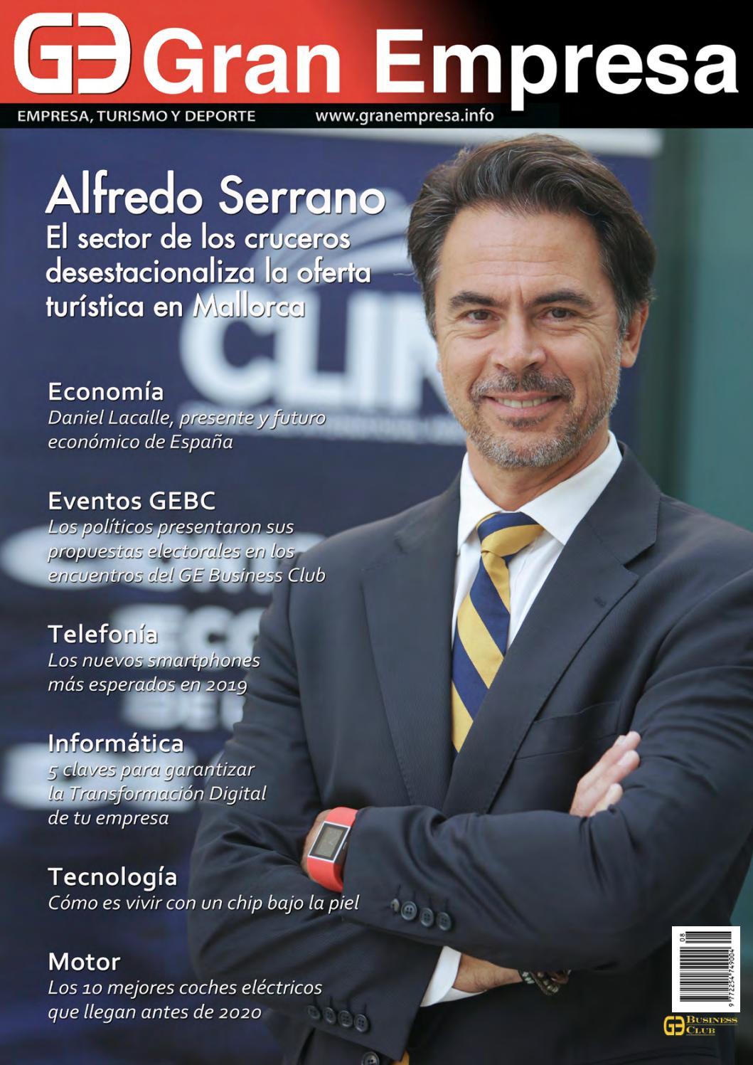 bf5c9183dce Revista Gran Empresa mayo by Mallorquina de Comunicacion y Servicios - issuu