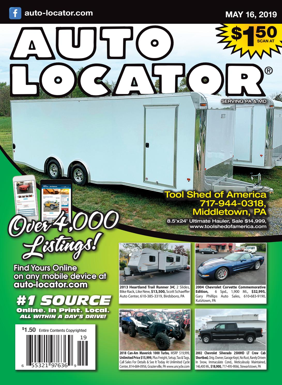 05-16-19 Auto Locator by Auto Locator and Auto Connection - issuu