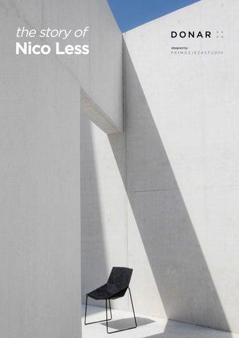 Lage Design Stoelen.The Story Of Nico Less Recycled Pet Felt Stoel By Luudo Design