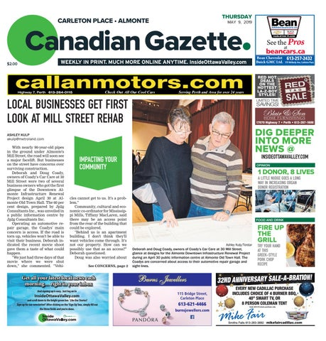 Almonte Carleton Place Canadian Gazette May 9 2019 By Metroland East Almonte Carleton Place Canadian Gazette Issuu