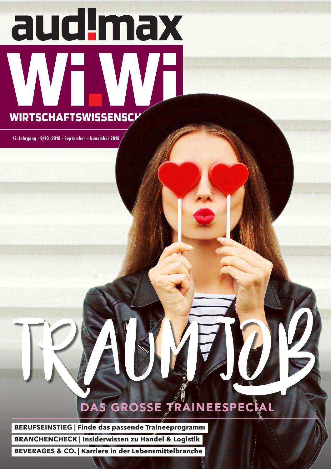 Audimax Wi Wi 9 10 2018 Das Karrieremagazin Für