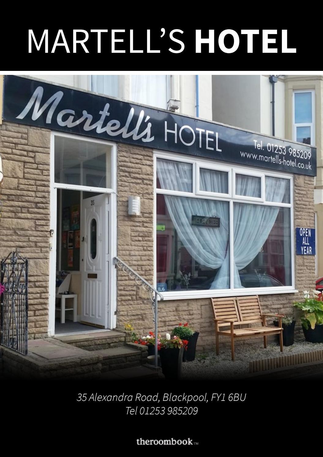 Blackpool Martells Hotel By Theroombook Issuu