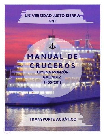 Manual De Cruceros Ximena Monzón By Ximena Monzón Issuu