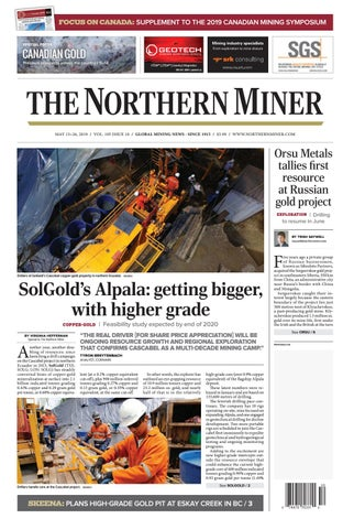 165 Niocorp Appoints Mr Mark A Smith  >> The Northern Miner May 13 2019 Issue 10 By The Northern
