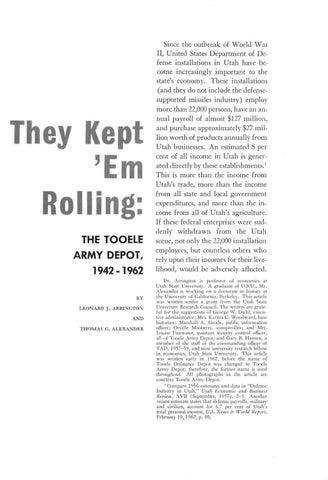 8db573234c8f Utah Historical Quarterly, Volume 31, Number 1, 1963 by Utah State ...