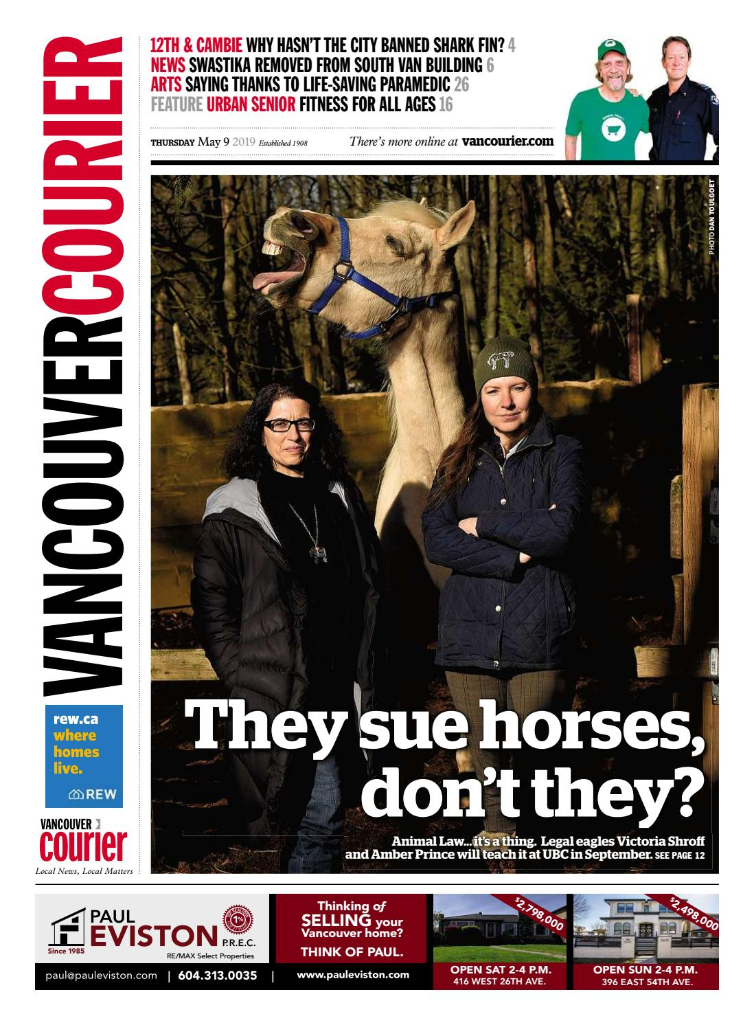 Vancouver Courier May 9 2019 by Vancouver Courier - issuu