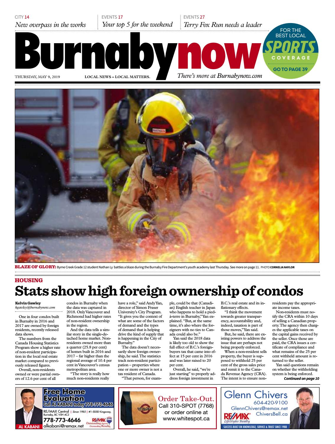 Burnaby Now May 9 2019 by Burnaby Now - issuu