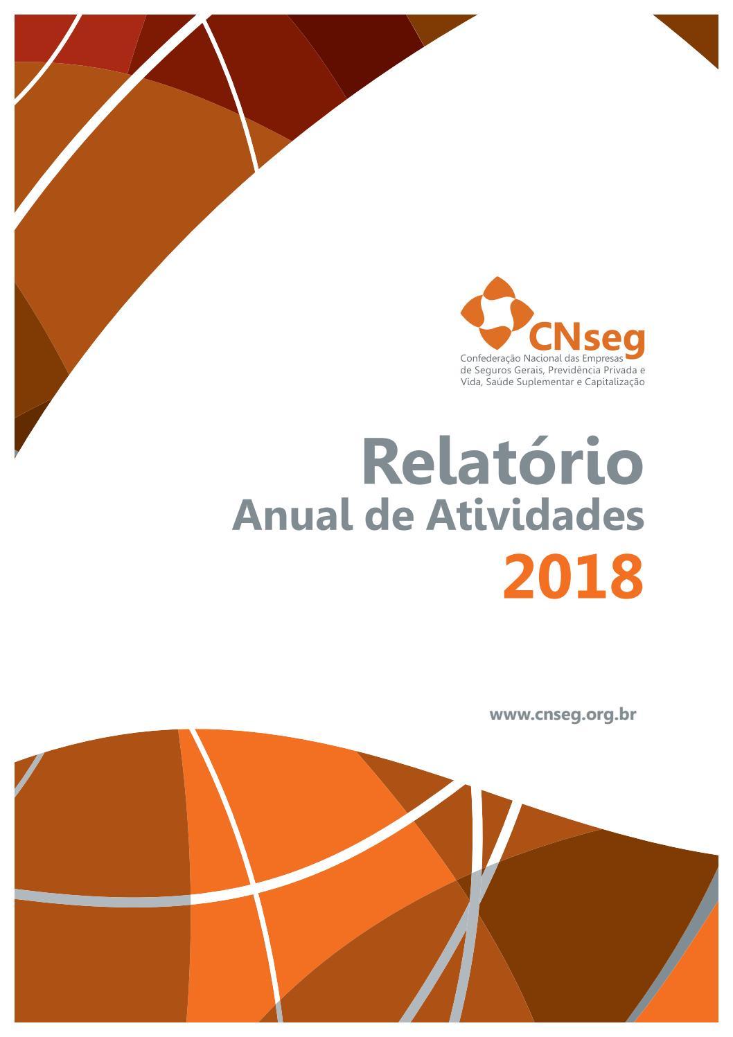 e69eacfed Relatório Anual de Atividades 2018 by CNseg - issuu