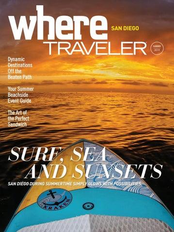 4190afac Where Traveler San Diego Magazine -- Summer 2019 by SoCalMedia - issuu