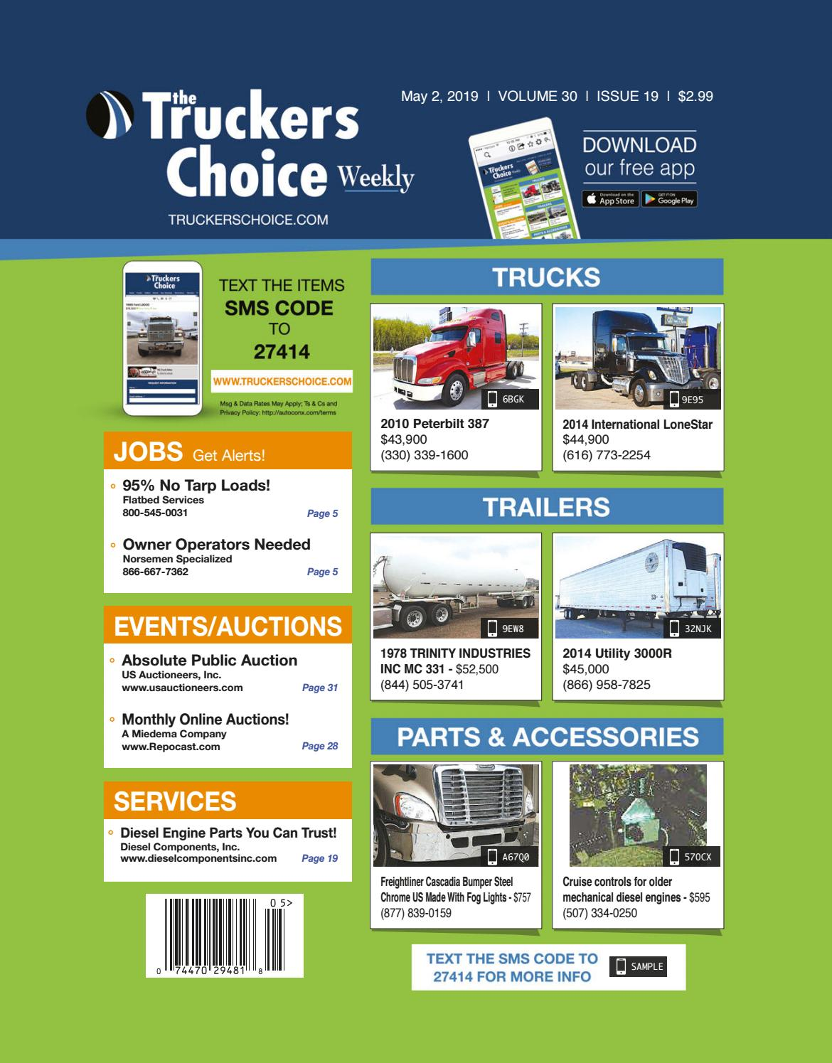 Truckers Choice 30-19 by DCHPublications - issuu
