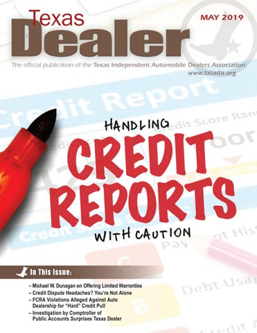 Texas Dealer, July 2016 by Texas Independent Auto Dealers