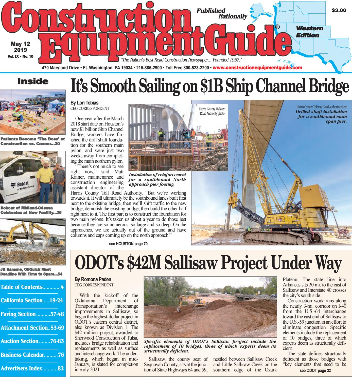 West 10 May 12, 2019 by Construction Equipment Guide - issuu