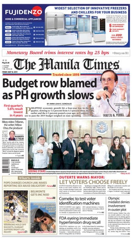 744f3ce22 THE MANILA TIMES | MAY 10, 2019 by The Manila Times - issuu