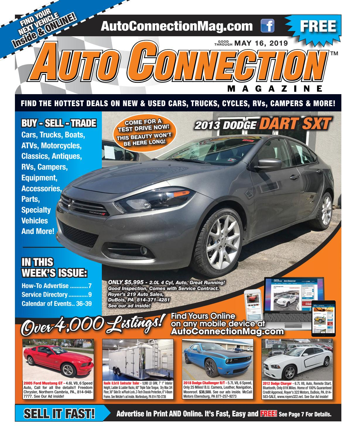 05-16-19 Auto Connection Magazine by Auto Locator and Auto