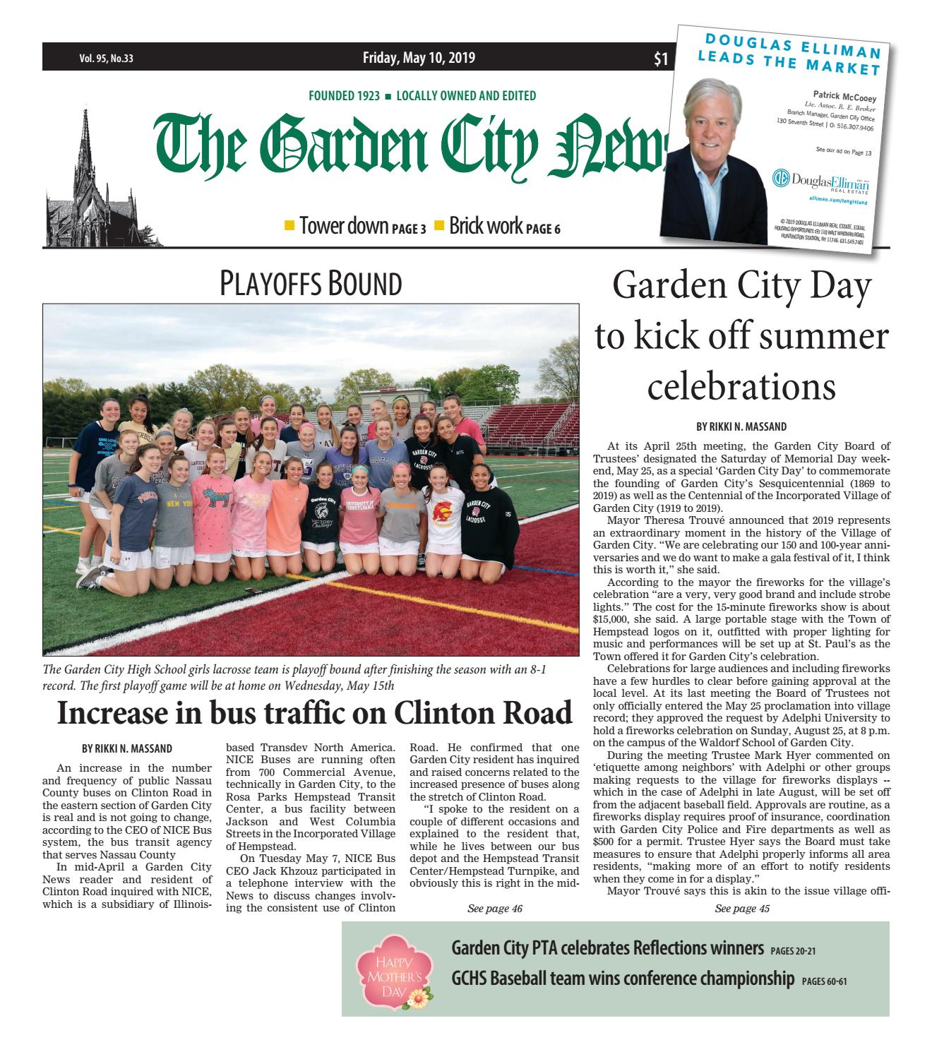 8ff3cd85923a08 The Garden City News (5/10/19) by Litmor Publishing - issuu