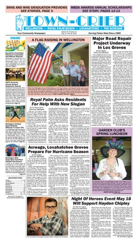 Town-Crier Newspaper May 10, 2019 by Wellington The Magazine