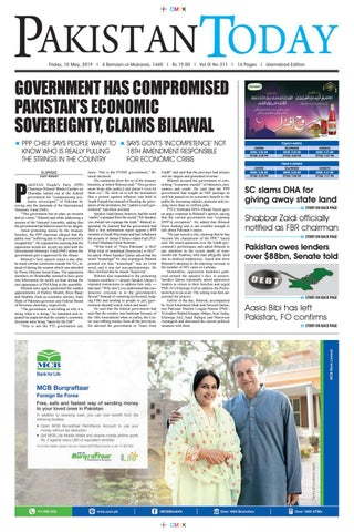 E-Paper PDF 10 May (ISB) by Pakistan Today - issuu