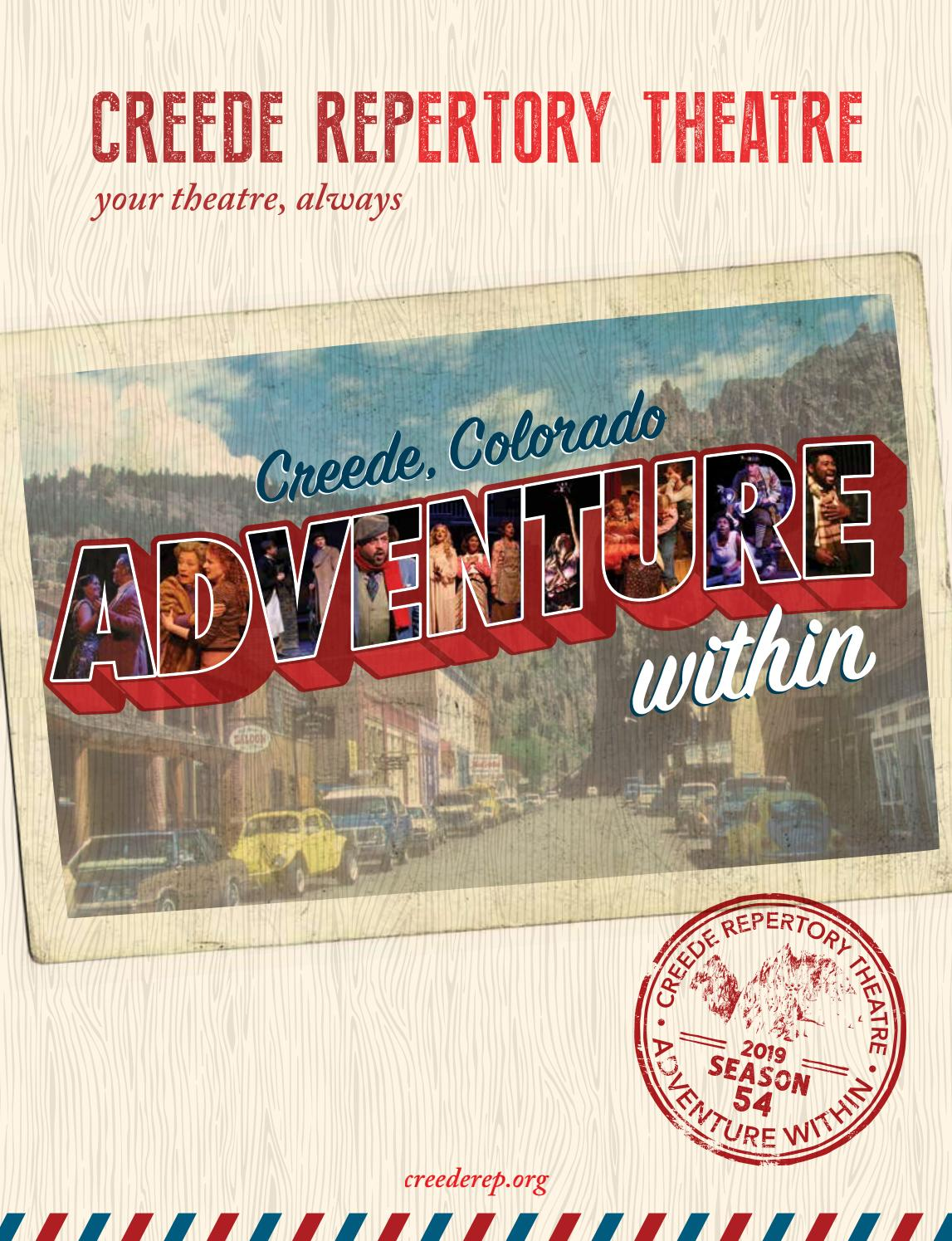 2019 Creede Repertory Theatre Season Program by Creede