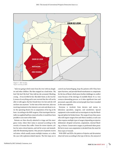 Page 25 of Shattered Lives and Bodies: Recovery of Survivors of Improvised Explosive Devices and Explosive Remnants of War in Northeast Syria