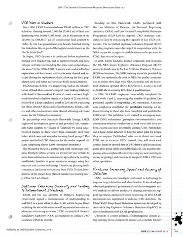Page 41 of Sepon Supports UXO Clearance in Laos