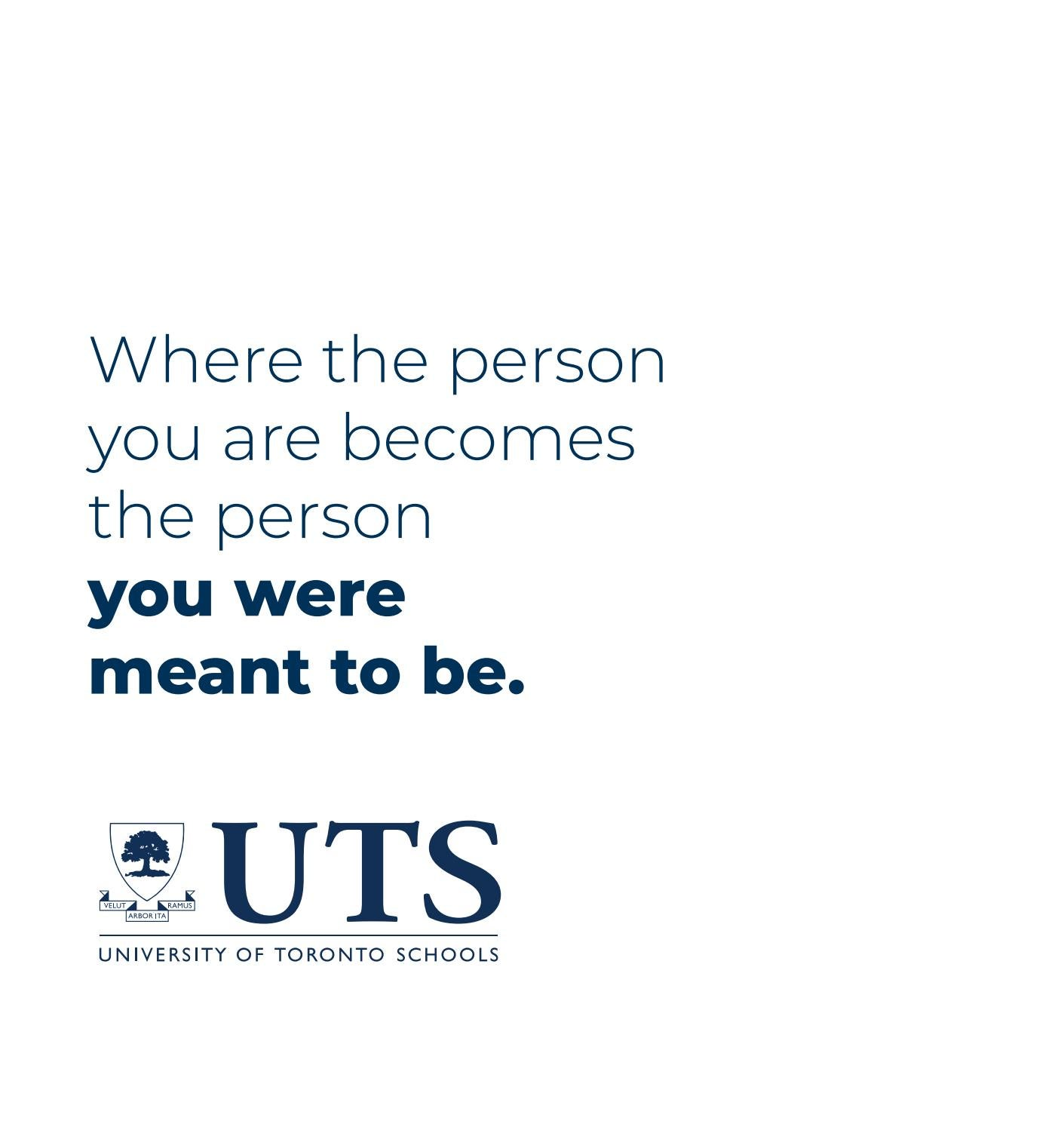 Uts Admissions Lookbook 2018 2019 By University Of Toronto Schools Issuu