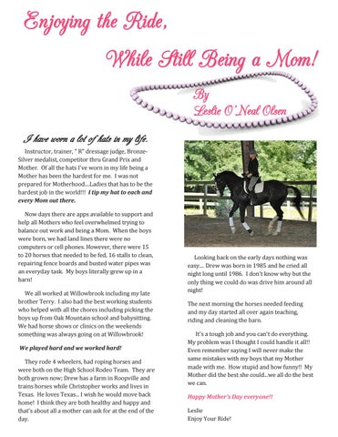 Page 7 of Enjoying the ride, While Still Being a Mom