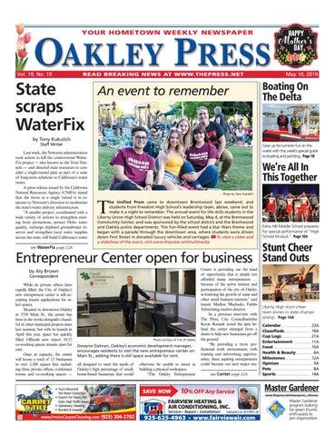 Oakley Press 05 10 19 by Brentwood Press & Publishing - issuu