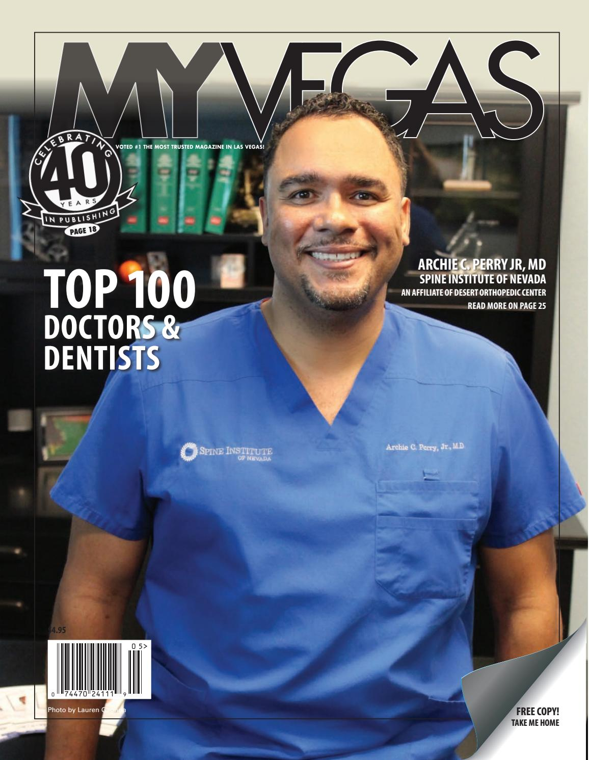 Issue 219 - Spine Institute of NV by MyVegas Mag - issuu
