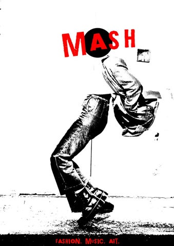 Mash Mag issue one by courtneybryant1712 - issuu
