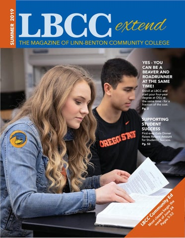 Lbcc Classes Spring 2020.Summer Schedule Of Classes By Extended Learning Issuu
