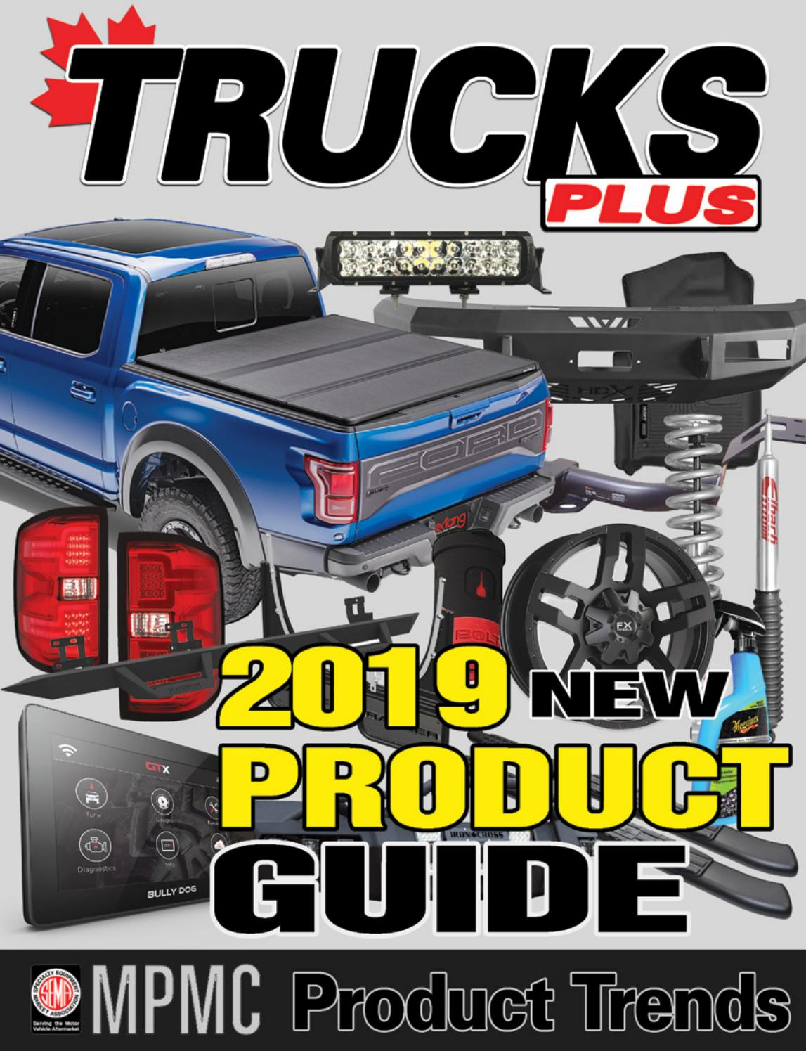 Trucks Plus New Product Guide 2019 By Rpm Canada Issuu