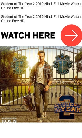 how to download student of the year 2 full movie in hindi hd