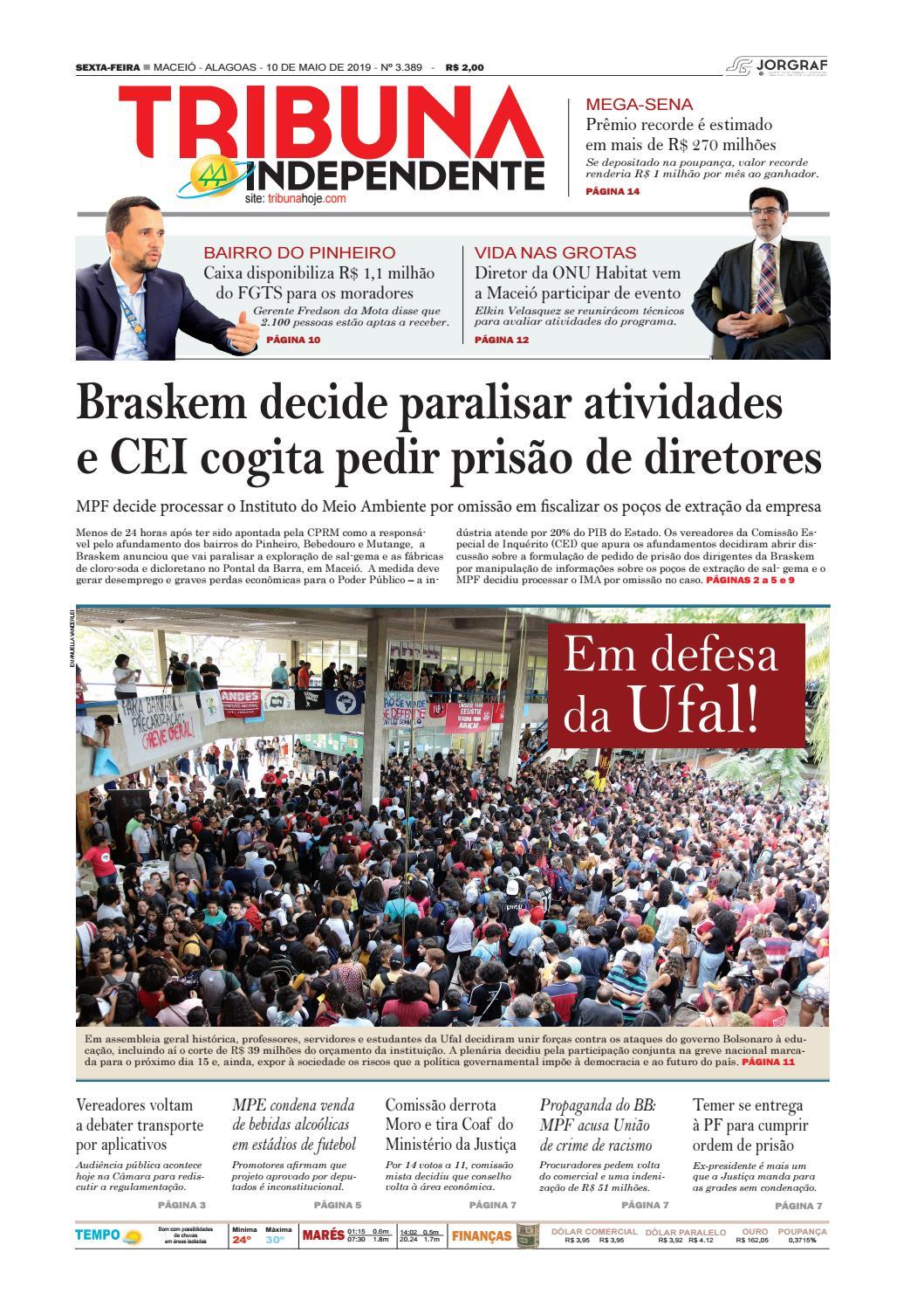 422887c07 Edição número 3389 - 10 de maio de 2019 by Tribuna Hoje - issuu