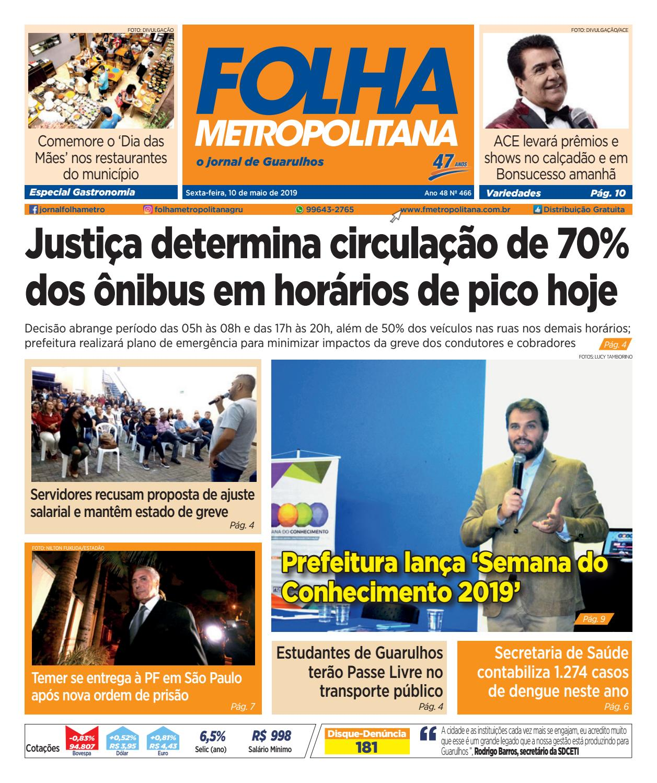b83968f2e2a Folha Metropolitana ed 466 - 10/05/2019 by Folha Metropolitana - issuu
