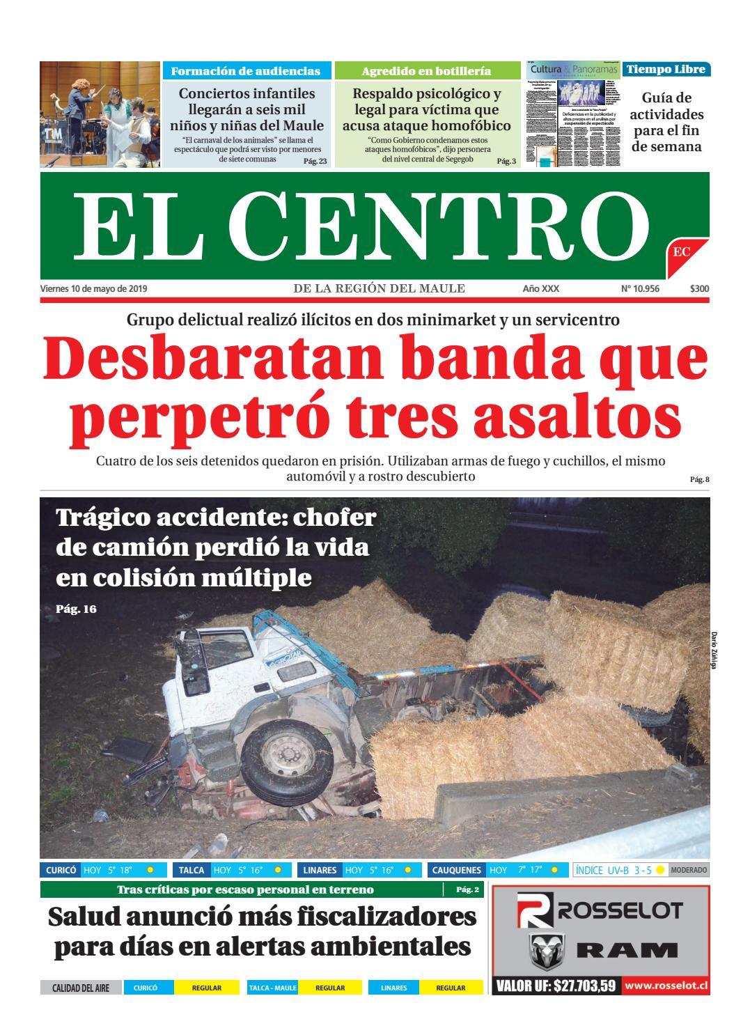 4f2d8208c860 diario 10-05-2019 by Diario El Centro S.A - issuu