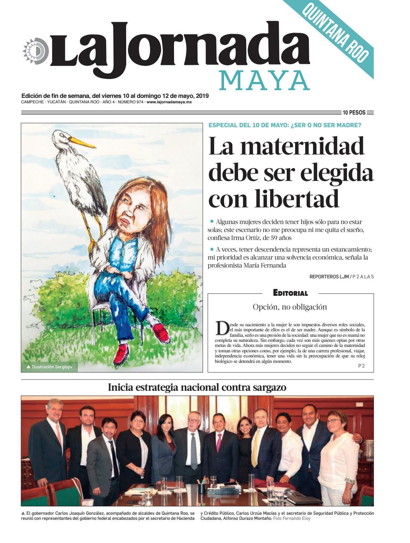 74afa85d44 La Jornada Maya · viernes 10 de mayo de 2019 by La Jornada Maya - issuu