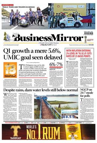 Businessmirror May 10, 2019 by BusinessMirror - issuu