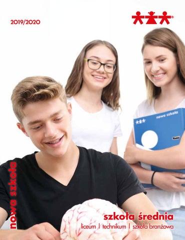 59e2c34f68 Katalog Szkoła Średnia 2019 2020. Nowa Szkoła by nowa szkola - issuu
